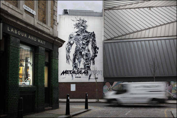 Metal Gear Rising London final