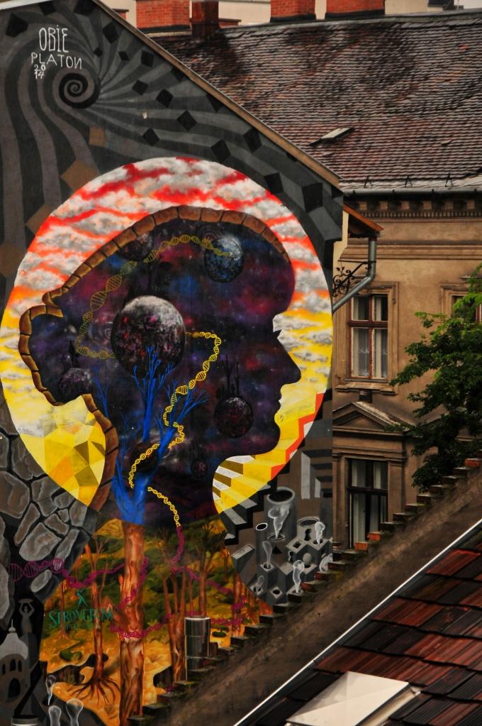 Obie Platon - Mother Nature - Madame Mezzanine character, Budapest, 2014 - final