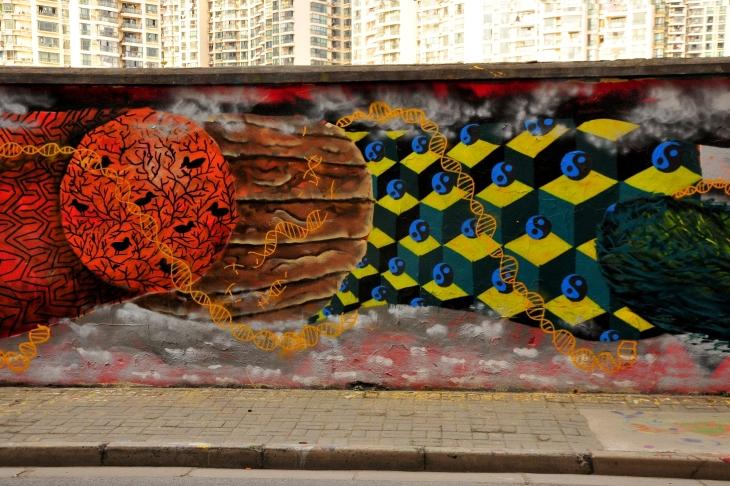 Obie Platon - Pollution, Shanghai, 2014, detail