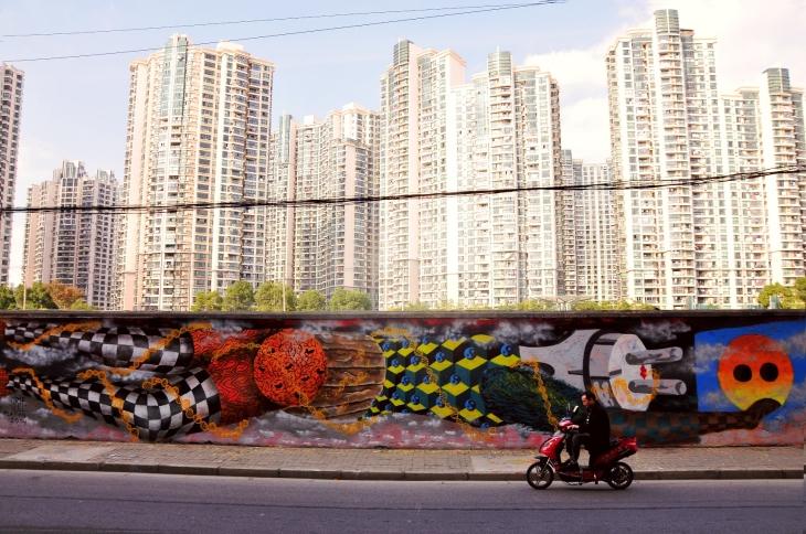 Obie Platon - Pollution, Shanghai, 2014 - overview