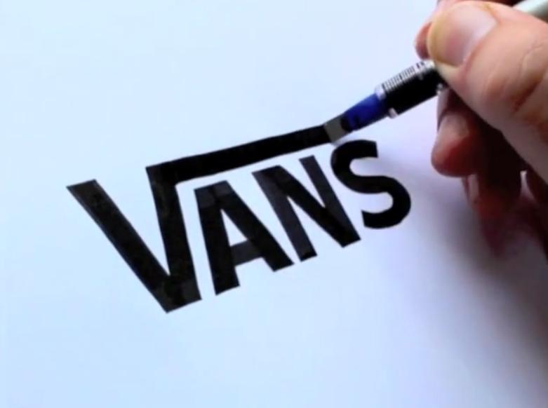 seb lester brand logos calligraphy bizarre beyond belief magazine