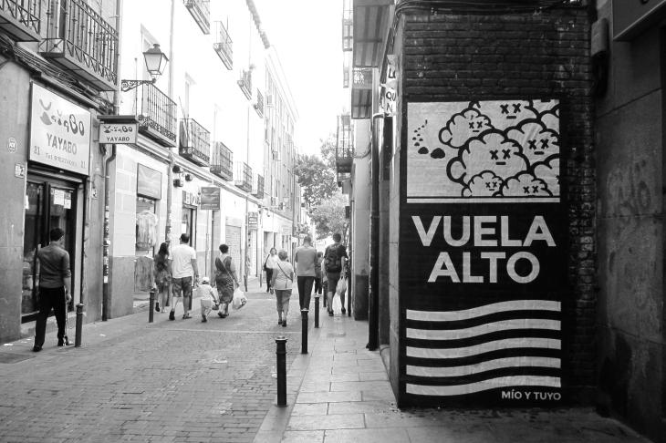 Madrid, Calle de Parades, (Fly High), 2015