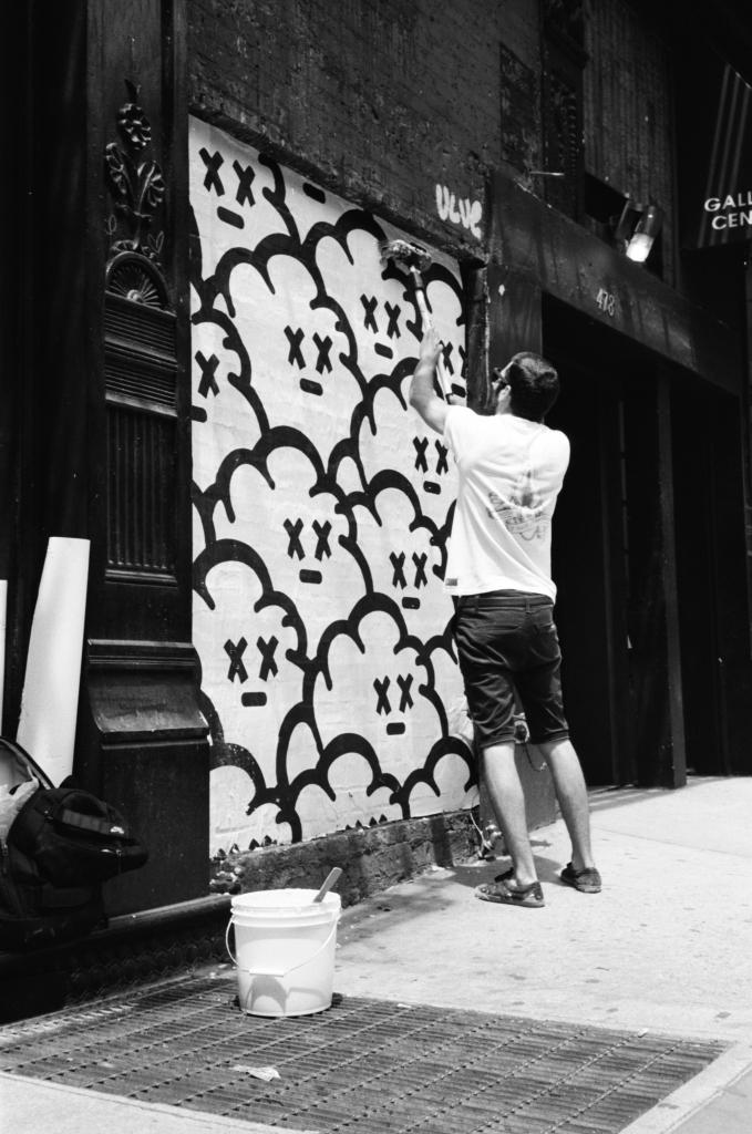 New York, W.Houston and W.Broadway 2, 2015