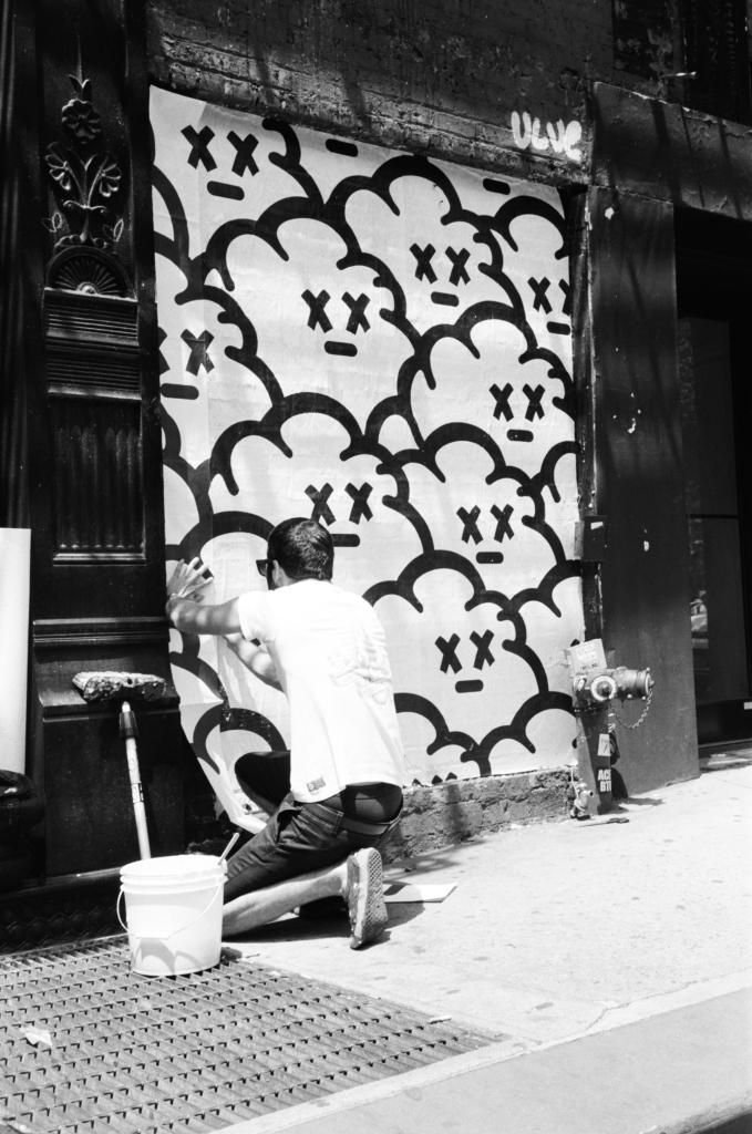 New York, W.Houston and W.Broadway, 2015