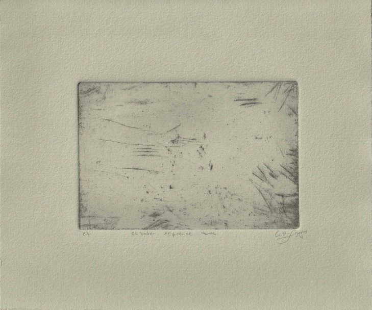 october sequence tree - ev print (ghost) (by arthur lugauskas)