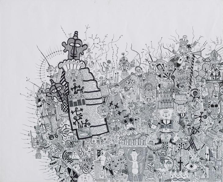 38 - Exposition Léonard Combier du 22 au 31 octobre 2012 à la galerie Alexandre Cadain. 76, rue Quincampoix 75003 - oct 12 -