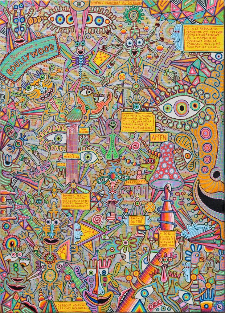 5 - Exposition Léonard Combier du 22 au 31 octobre 2012 à la galerie Alexandre Cadain. 76, rue Quincampoix 75003 - oct 12 -