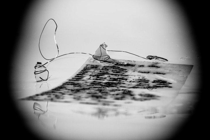 Poem in Ice, Black Ink by Arthur Lugauskas (10:10)