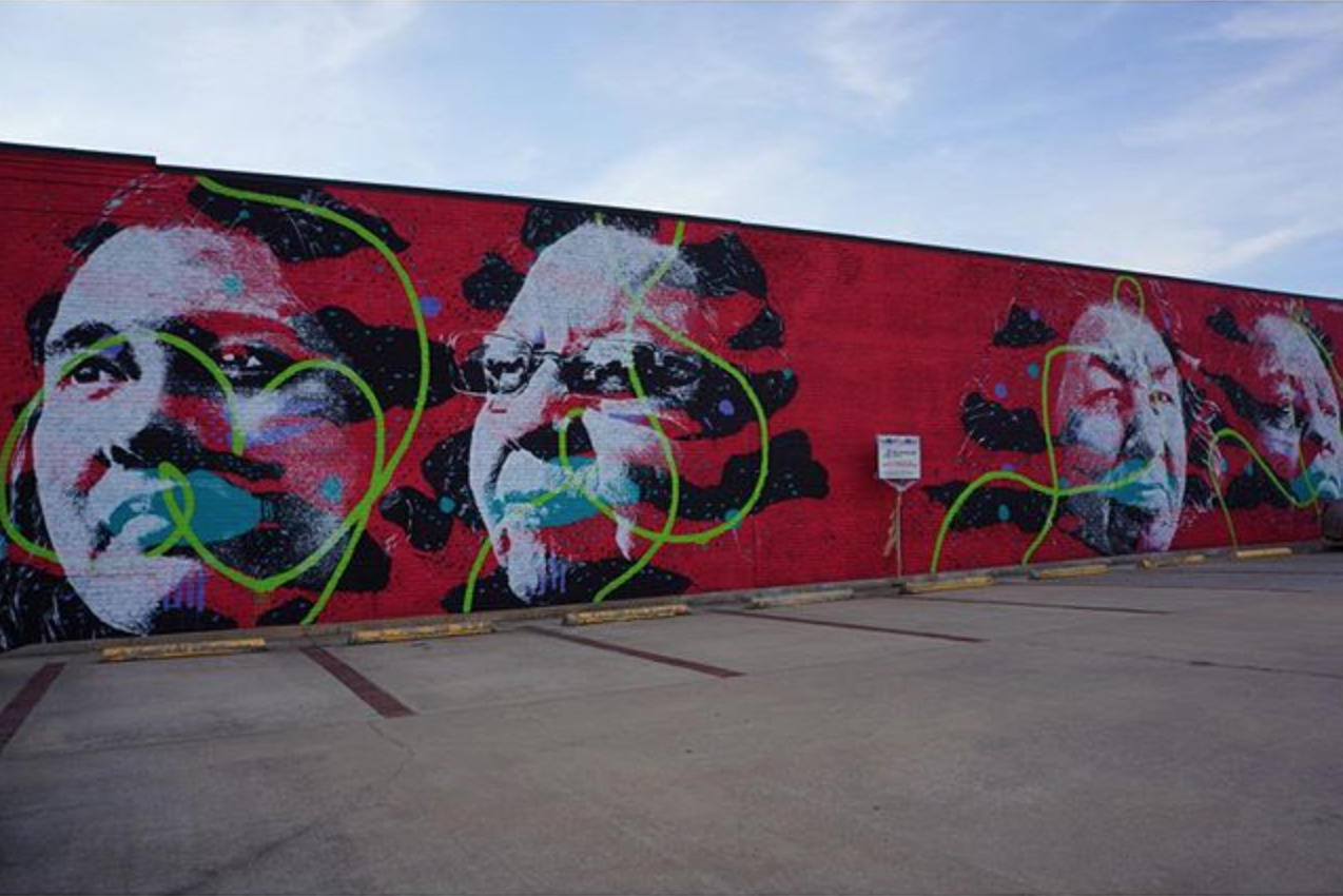 askew new mural in fort smith bizarre beyond belief magazine