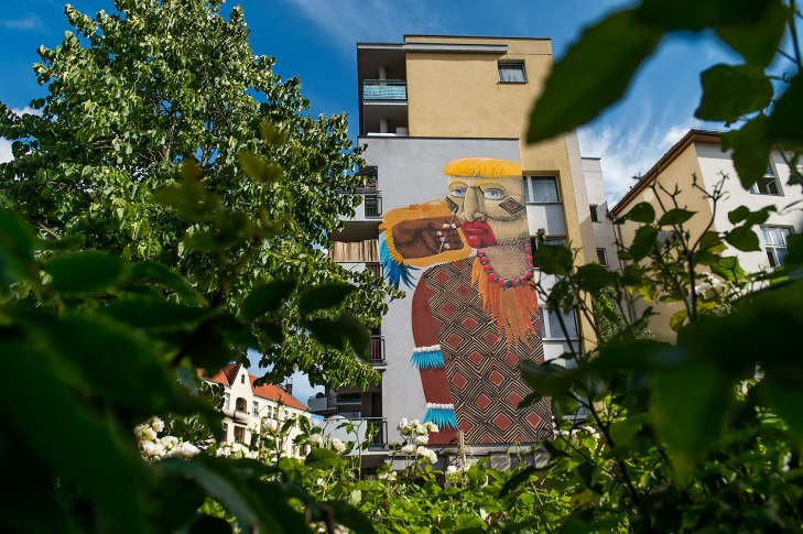"Project M/10 ""Colors"" curated by Instagrafite in partnership with Urban Nation, Berlin, Germany, in July 2016.   #projectM #projectM10 #UrbanNation #UrbanNationBerlin #instagrafite #MuseumofUrbanAndContemporaryArt #streetart #nunca.art @urbannationberlin @instagrafite @nunca.art photo by Nika Kramer"