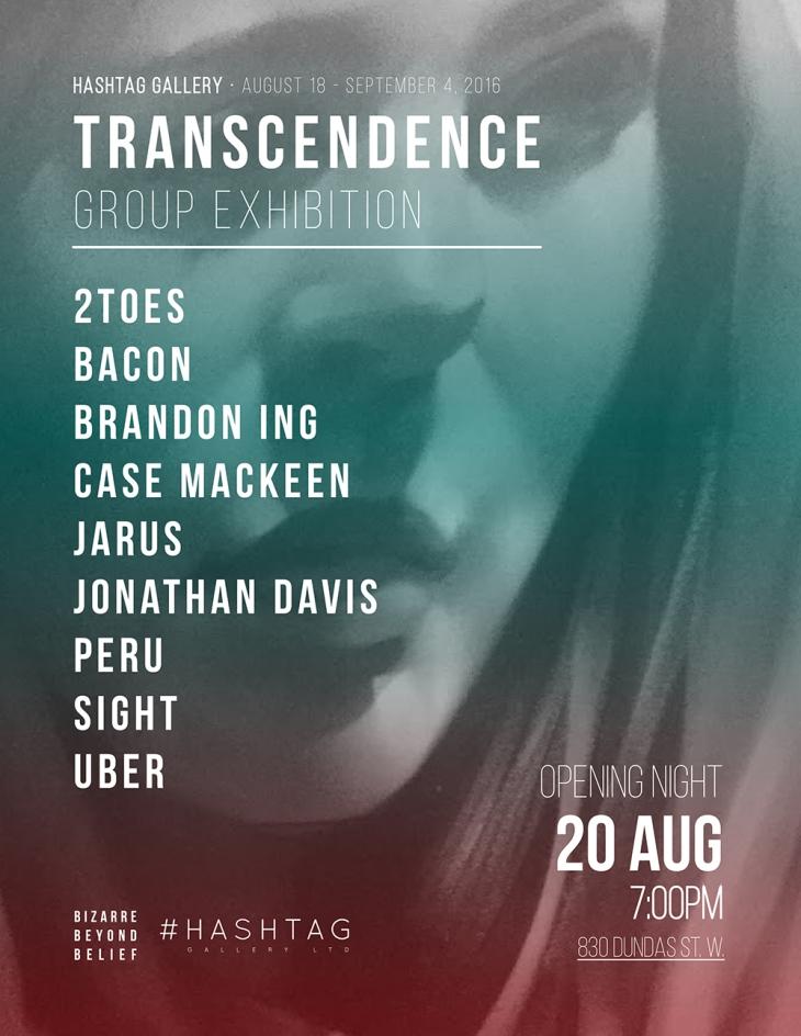 transcendence flyer
